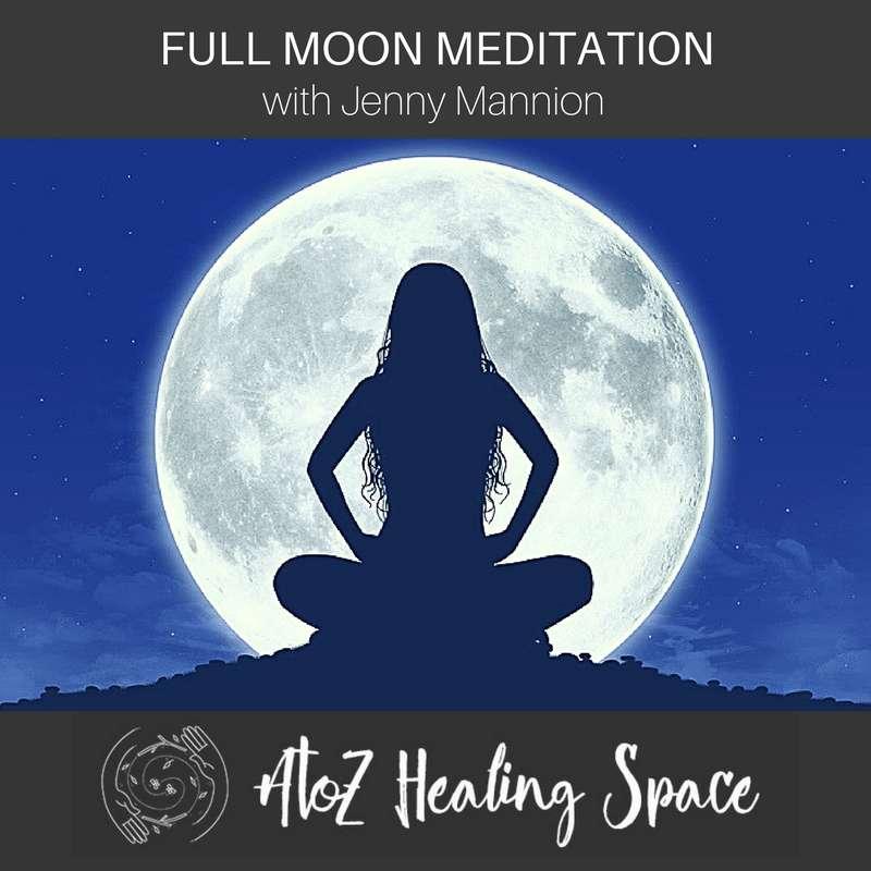 FULL MOON DISTANCE HEALING & MEDITATION